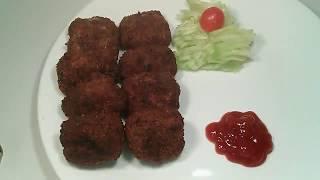 Beef cutlet recipe bangla/beef chop.