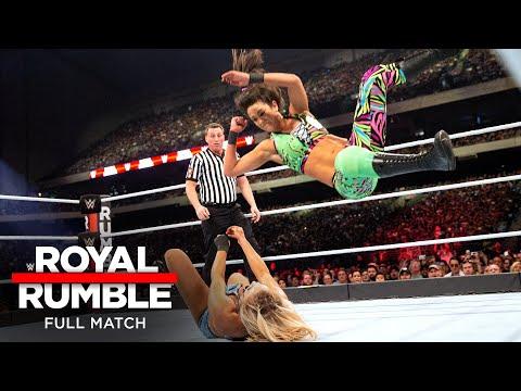FULL MATCH - Charlotte Flair vs. Bayley – Raw Women's Championship Match: Royal Rumble 2017