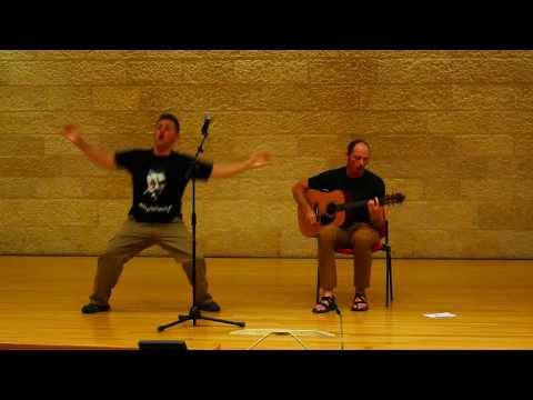 Tribute by Tenacious D (Cover by Ira and Daniel, BYU Jerusalem Talent show 2017)