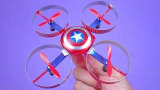 Faça um Incrível Mini Drone com latinhas de refrigerante