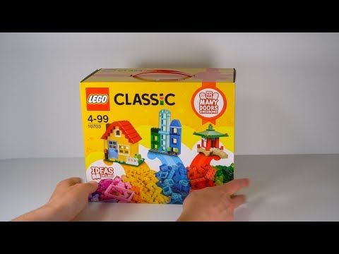Lego review on set 10703 Creative Builder Box.