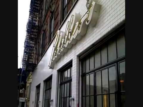 WE VISIT SCHILLER'S LIQUOR BAR NEW YORK LOWER EAST SIDE RESAURANT NYC