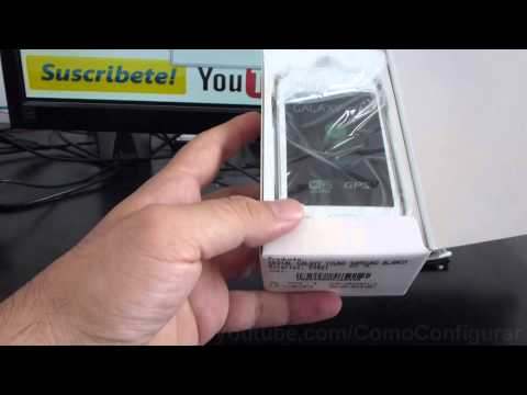 Unboxing samsung galaxy young s6310 español Video Full HD