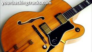 Slow Blues Backing Track in F# / Jam Tracks & Blues Guitar BackTracks TCDG