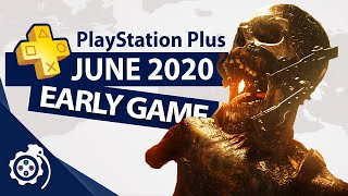 Early Free Game - Playstation Plus  Ps+  June 2020