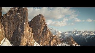 DJI Inspire 2 & X5s High Altitude  Footage from the Austrian Alps