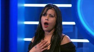 Precella huilend weg na auditie - IDOLS