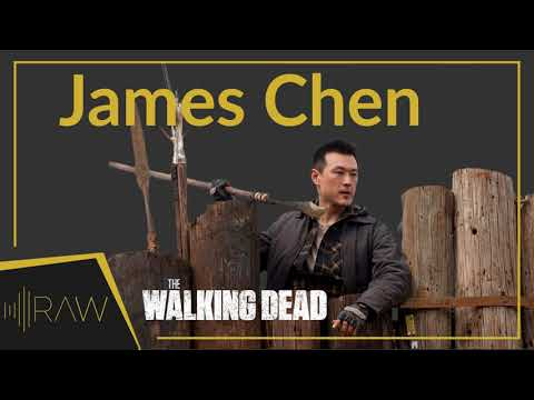 James Chen on The Walking Dead | RAW Interviews