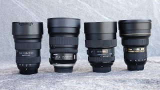 Wide Angle Lens Showdown - Nikon vs Sigma vs Tamron vs Tokina