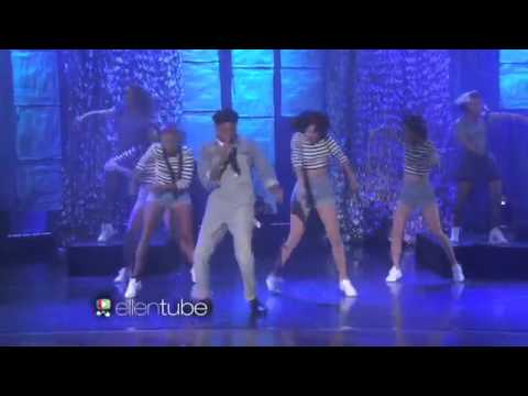 Pharrell Williams - Freedom  live  The Ellen Show