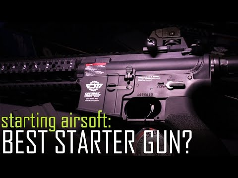 Starting Airsoft: The Best Starter Gun? - Ep1. What Rifle? & Intro the Upgrade Challenge!