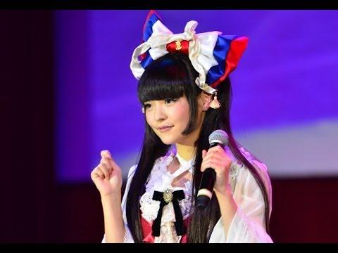 ロシア最大の日本ポップカルチャーの祭典「J-FEST2013」2日目の24日、現役女子大生の声優・歌手の上坂すみれさんが出演。アニメのアテレコやデビュー曲を披露した。