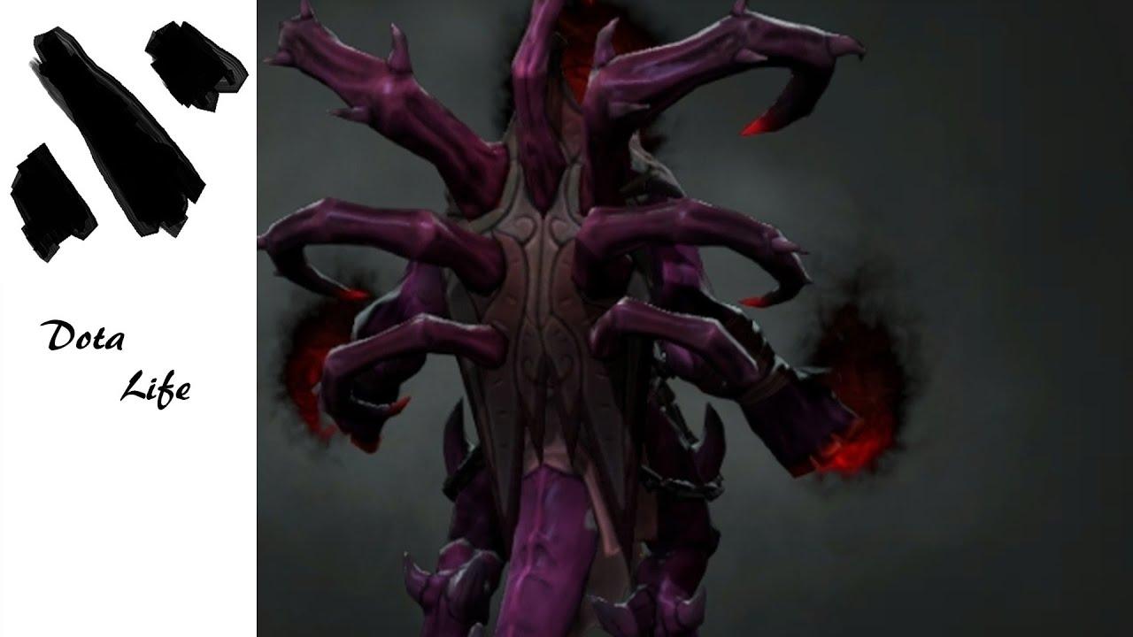 dota 2 diabolical appendages set shadow demon youtube