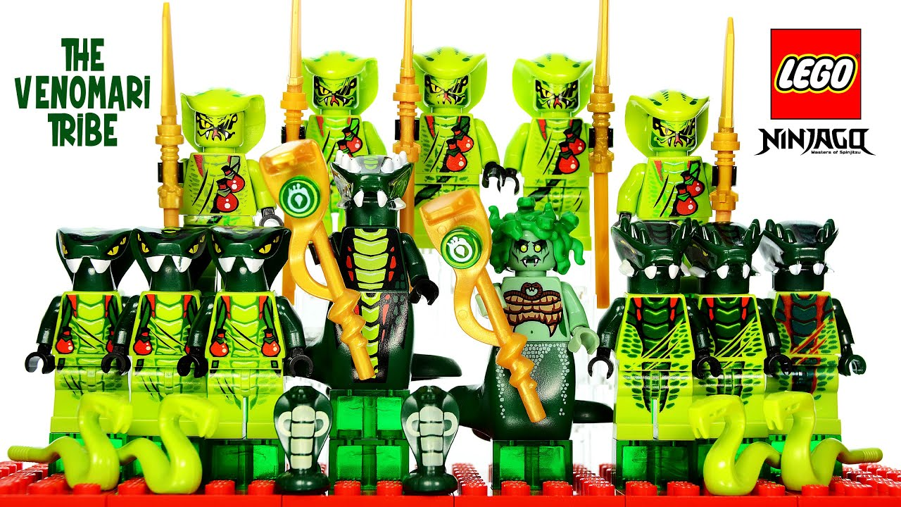 Lego ninjago rise of the snakes venomari tribe serpentine - Serpent lego ninjago ...