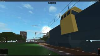 NS 6400 and Ex-SNCF/TGV at Rozlyn South Roblox