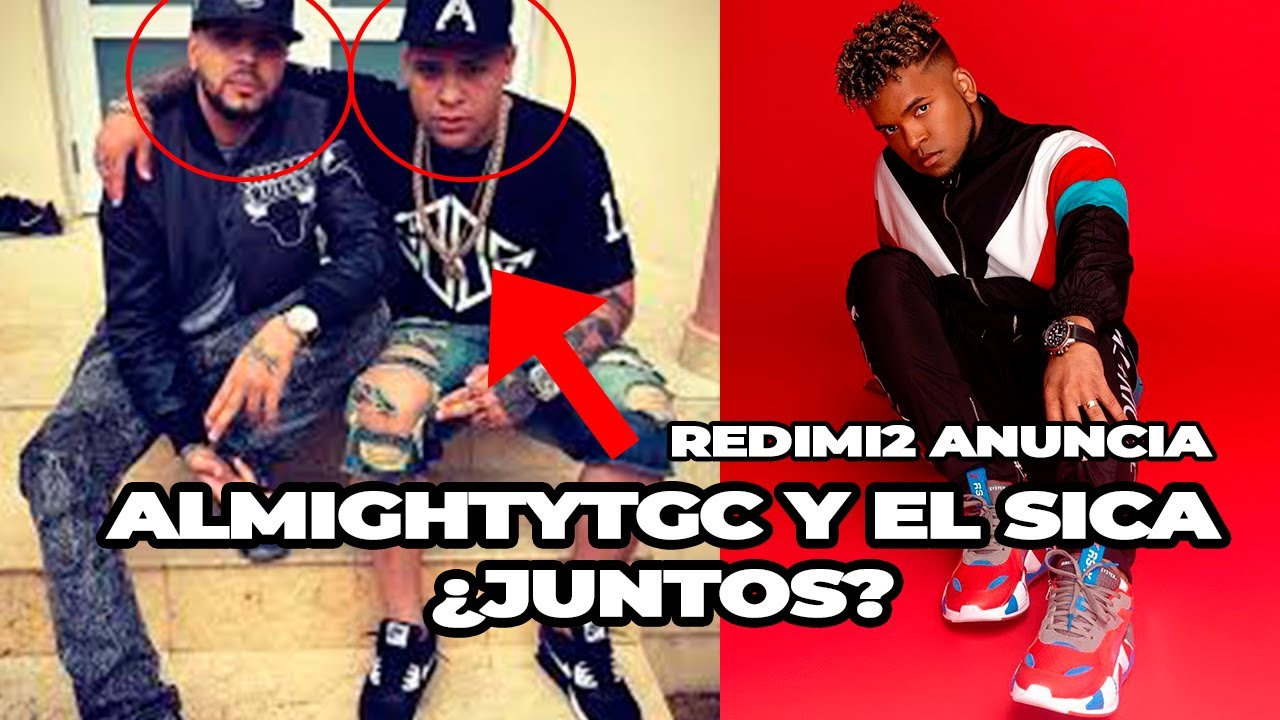 ALMIGHTY GRABÁ CON EL Christian Ponce EL SICA / REDIMI2 ANUNCIA 3 VIDEOS