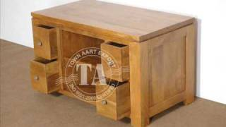 Oak Wood Furniture Indian Furniture Handicraft