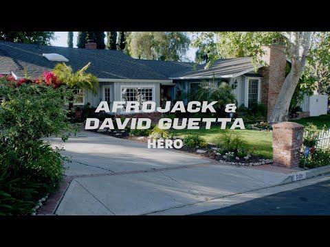Смотреть клип Afrojack & David Guetta - Hero