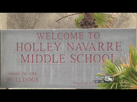 Authorities investigating threat at Holley Navarre Middle School