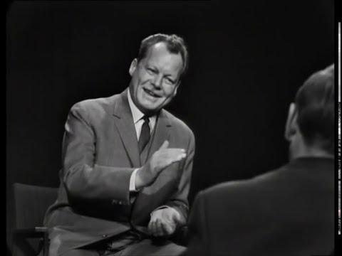 Günter Gaus im Gespräch mit Willy Brandt (1964)