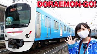 西武 DORAEMON-GO!のお披露目セレモニー&報道公開に行ってきた