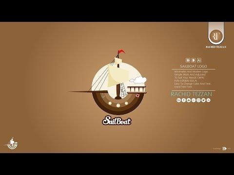 Logo Design Tutorial -SailBoat- thumbnail