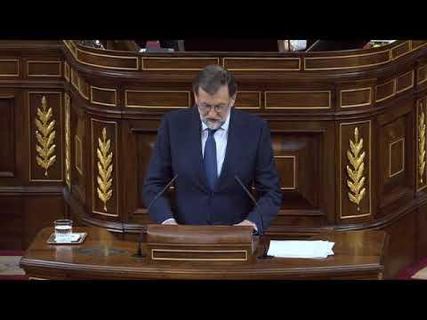 MARIANO RAJOY (PP) - Discurso pleno INDEPENDENCIA de CATALUÑA (11/10/2017)