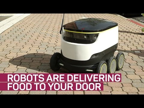 Robots are delivering food to your door