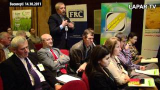 Ing. Zamfir Ioan - interventie in cadrul conferintei
