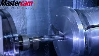 Mastercam Machine a Formula SAE spindle component for Uconn team