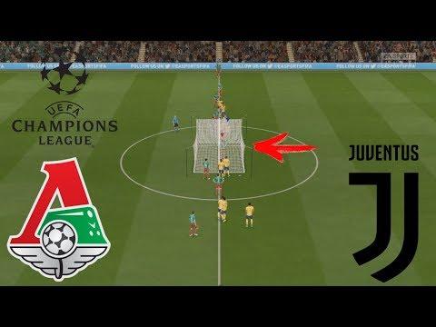 ЛОКОМОТИВ ЮВЕНТУС БЕЗ ПОЛЯ | ЛИГА ЧЕМПИОНОВ УЕФА