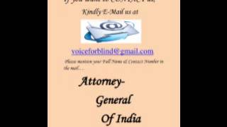 Attorney General of India (By Anita Sharma)