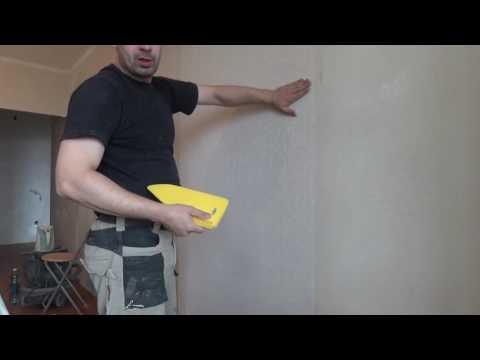 Как правильно пользоваться шпателем для обоев