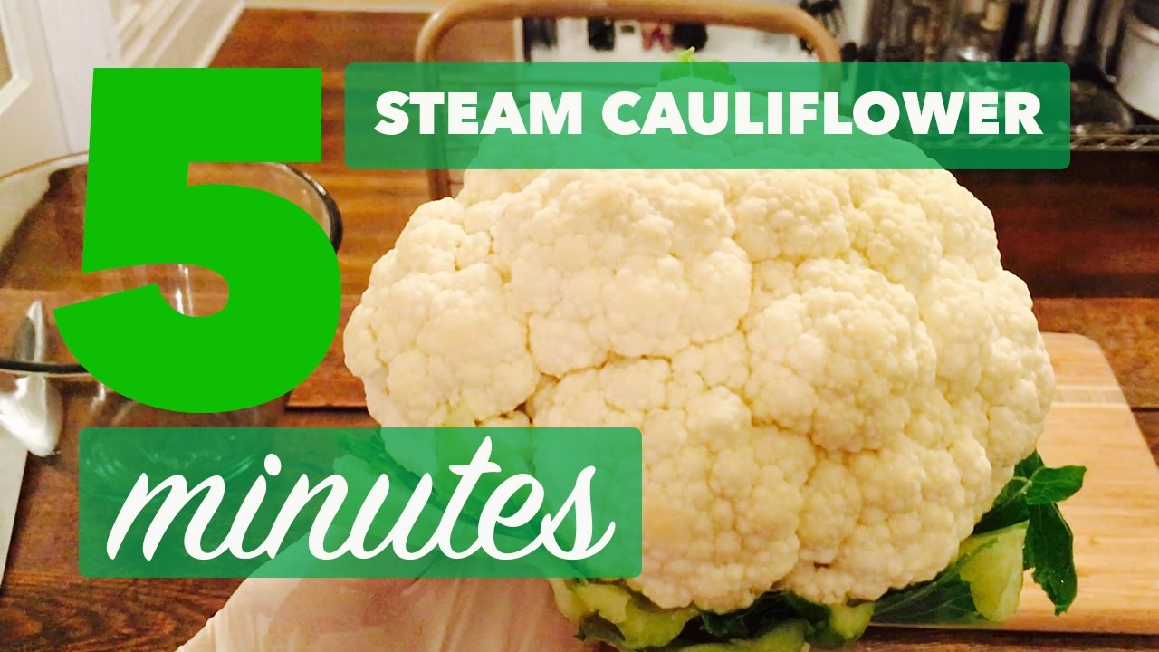 How To Steam Cauliflower Without A Steamer  Easy, No Hassle In 5 Minutes