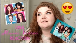 DNA: REACTING TO ALL OF LITTLE MIX'S MUSIC VIDEOS Episode 1 | Alyssa Reacts