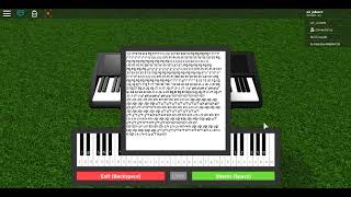 """Faded by Alan - Walker"" Roblox piano"