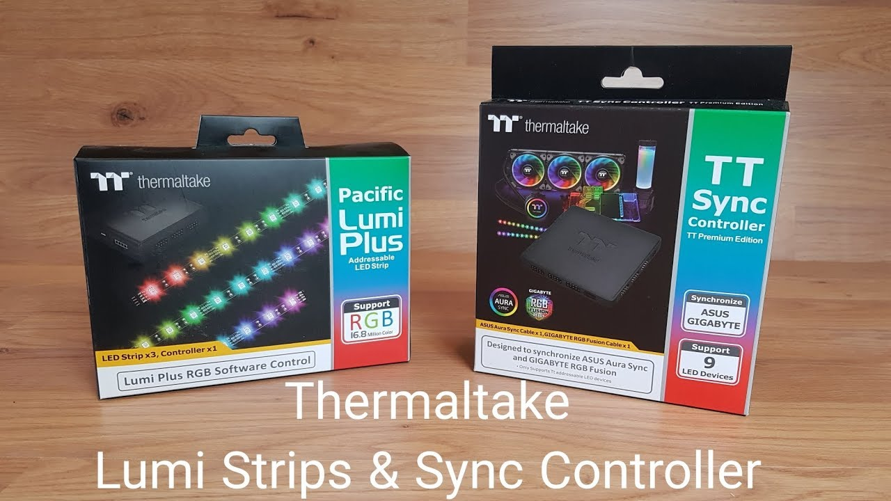 Thermaltake Lumi Plus Strips & Sync Controller Premium