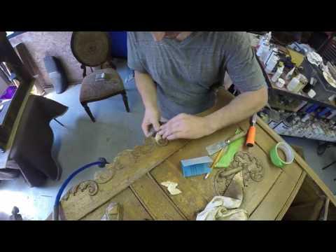 Dresser Decorative Trim Repair
