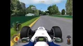 Grand Prix 4 PC Gameplay - Quick Race - Melbourne, Austrailia
