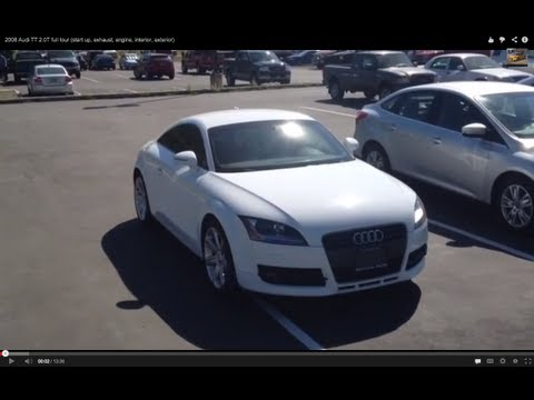 2008 Audi TT 2.0T full tour (start up, exhaust, engine, interior, exterior)