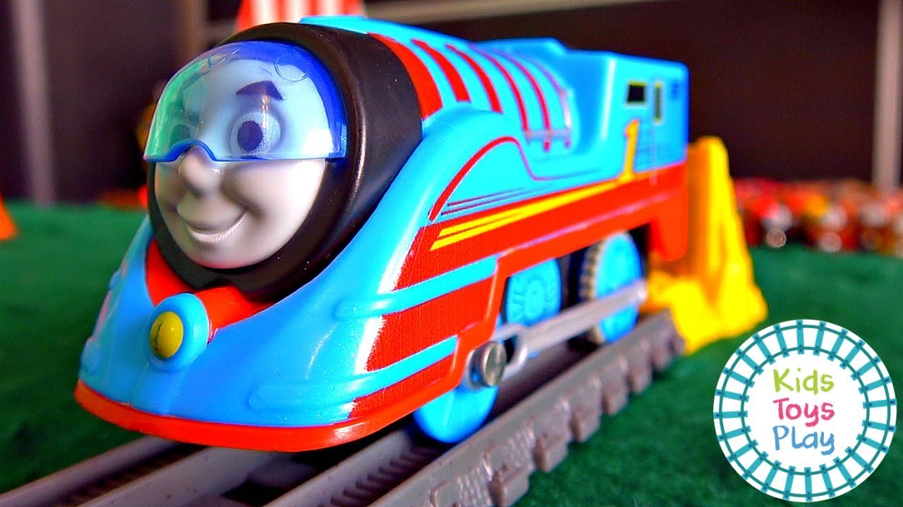 Thomas and Friends Big World Big Adventures Trackmaster Mystery Wheel Races