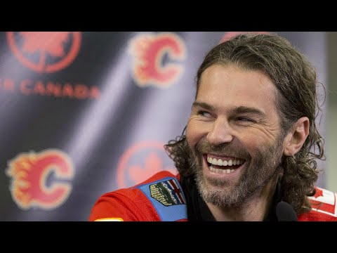 'Surreal' for Treliving to see Jagr take the ice for Flames