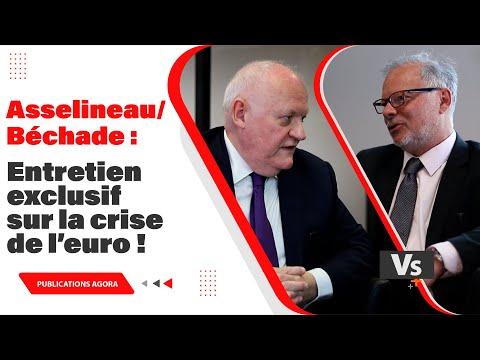 Asselineau / Béchade : entretien exclusif sur la crise de l'euro !