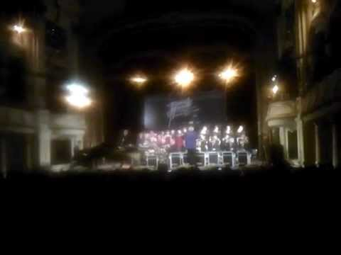 "Bavarian Youth Jazz Band played ""Inh La Oi"" at Hanoi Opera House 09 May 2014"