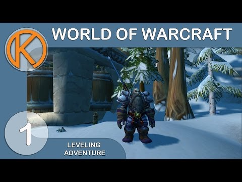 World Of Warcraft: Leveling Adventure - Character Creation And Addons [1] - Monk 1 - 100 Leveling