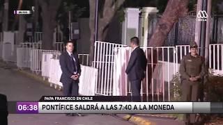 Especial Ahora Noticias: Primera jornada del Papa Francisco en Chile