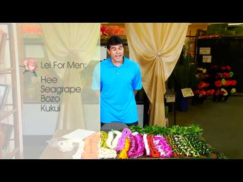 How To Choose A Lei For A Man | Watanabe Floral - Honolulu, Hawaii Florist Flower Shop