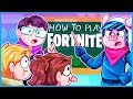 Teaching 2 NOOBS How to Play Fortnite...