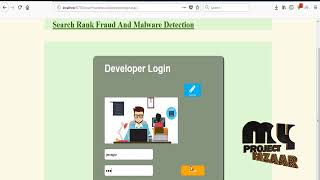Search Rank Fraud and Malware Detection in Google Play
