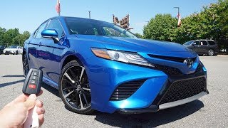 2019 Toyota Camry XSE: Start Up, Test Drive, Walkaround and Review